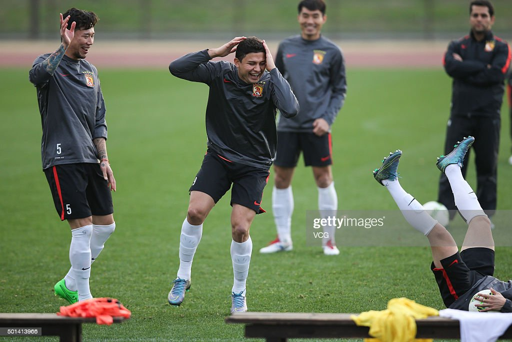 Guangzhou Evergrande Training Session During FIFA Club World Cup 2015