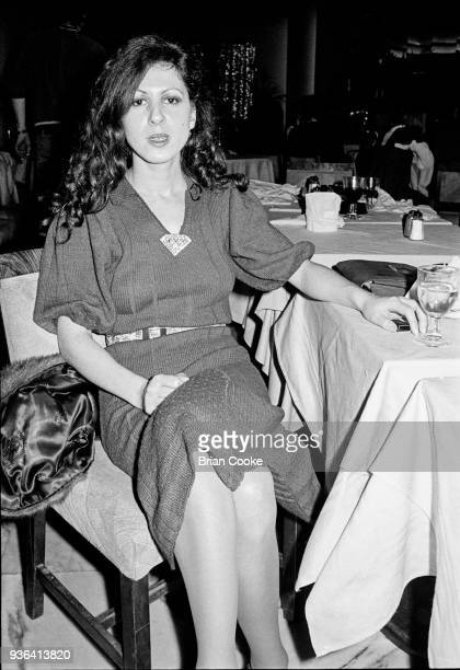 Elkie Brooks of Vinegar Joe photographed at a reception for The Pointer Sisters at the Biba Restaurant in Kensington London on 10th January 1974