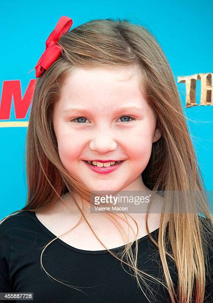 """Ella Anderson arrives at the premiere of Premiere Of Focus Features' """"The Boxtrolls"""" at Universal CityWalk on September 21, 2014 in Universal City,..."""