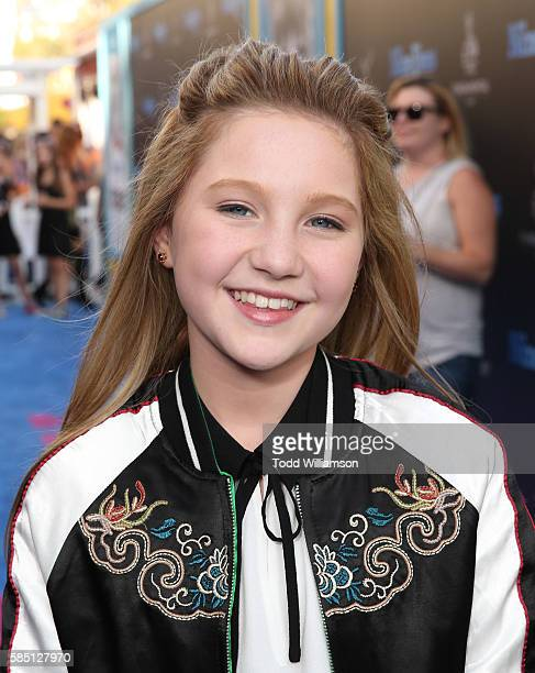 Ella Anderson attends the premiere Of EuropaCorp's Nine Lives at TCL Chinese Theatre on August 1 2016 in Hollywood California