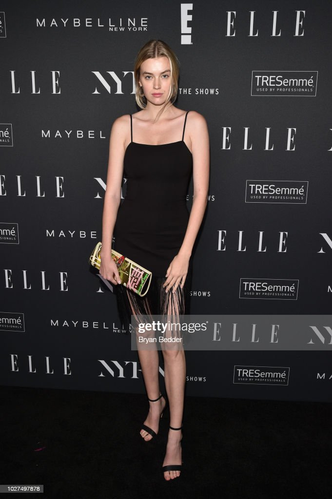 E!, ELLE & IMG Celebrate The Kick-Off To NYFW: The Shows : News Photo