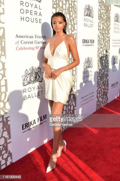 Ella Balinska as The American Friends of Covent Garden Celebrates 50 Years With A Special Event For The Royal Opera House and The Royal Ballet at...