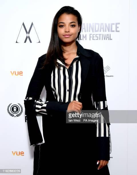 Ella Balinska attending the Raindance Film Festival 2019 held in London