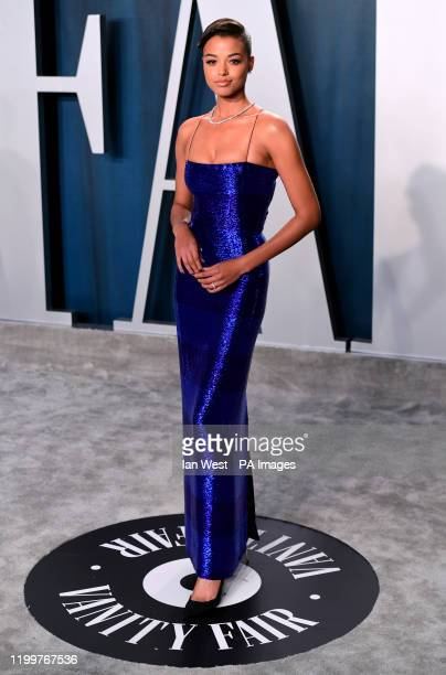 Ella Balinska attending the Vanity Fair Oscar Party held at the Wallis Annenberg Center for the Performing Arts in Beverly Hills Los Angeles...