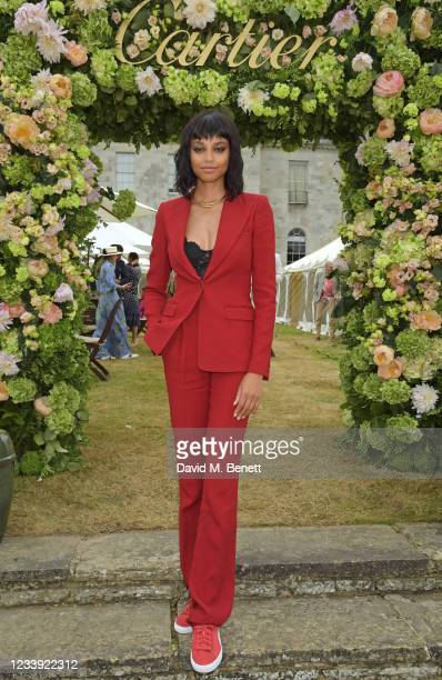 Ella Balinska attends Cartier Style Et Luxe at the Goodwood Festival Of Speed at Goodwood Racecourse on July 11, 2021 in Chichester, England.