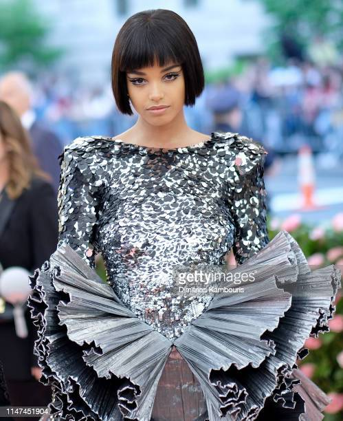 Ella Balinska attends The 2019 Met Gala Celebrating Camp Notes on Fashion at Metropolitan Museum of Art on May 06 2019 in New York City