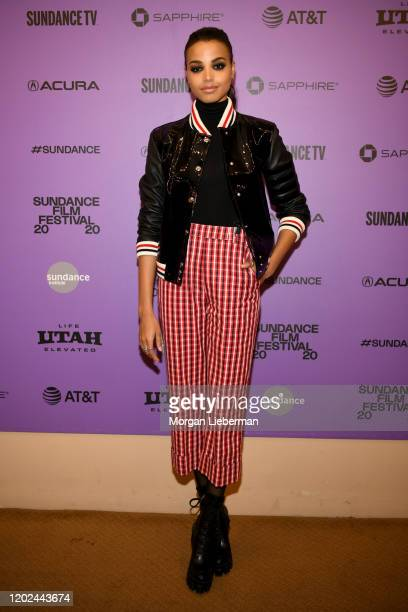 "Ella Balinska attends the 2020 Sundance Film Festival - Run Sweetheart Run"" Premiere at Egyptian Theatre on January 27, 2020 in Park City, Utah."