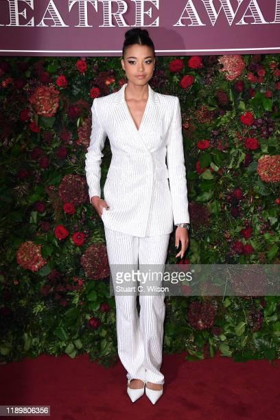 Ella Balinska attends the 65th Evening Standard Theatre Awards at London Coliseum on November 24 2019 in London England