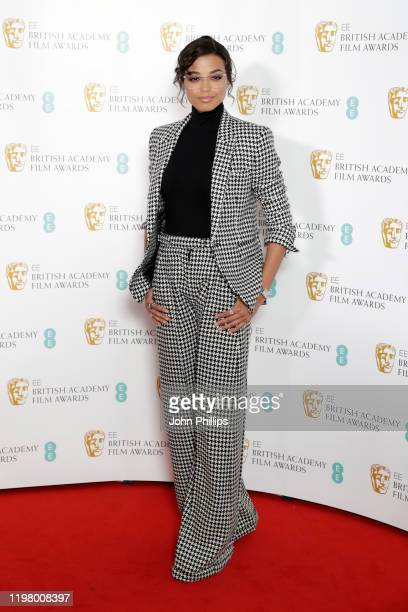 Ella Balinska attends the BAFTA Film Awards Nominations Announcement 2020 photocall at BAFTA on January 07, 2020 in London, England.