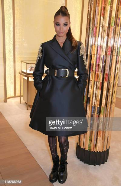 Ella Balinska attends the Cartier and British Vogue Darlings Dinner at the Residence at Cartier New Bond Street on June 5, 2019 in London, England.