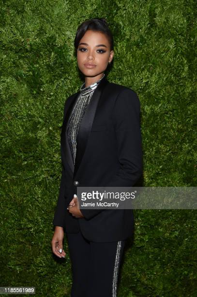 Ella Balinska attends the CFDA / Vogue Fashion Fund 2019 Awards at Cipriani South Street on November 04 2019 in New York City