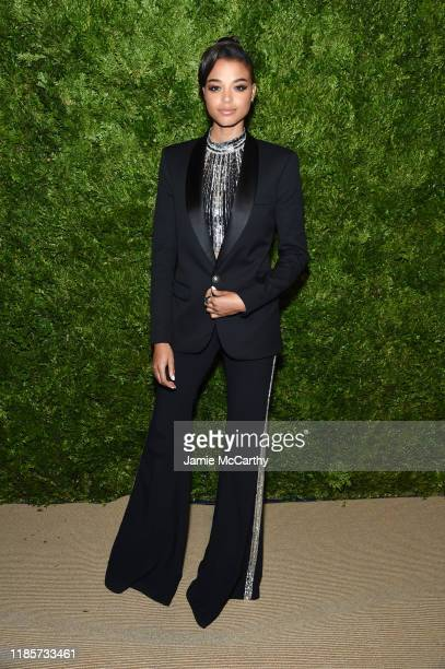 Ella Balinska attends the CFDA / Vogue Fashion Fund 2019 Awards at Cipriani South Street on November 04, 2019 in New York City.