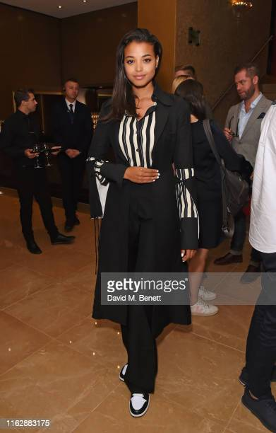 Ella Balinska attends the Raindance Film Festival's Special Soiree at The May Fair Hotel on August 20 2019 in London England