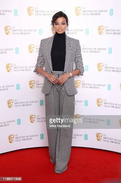 Ella Balinska during the BAFTA Film Awards Nominations Announcement 2020 photcall at BAFTA on January 07, 2020 in London, England.