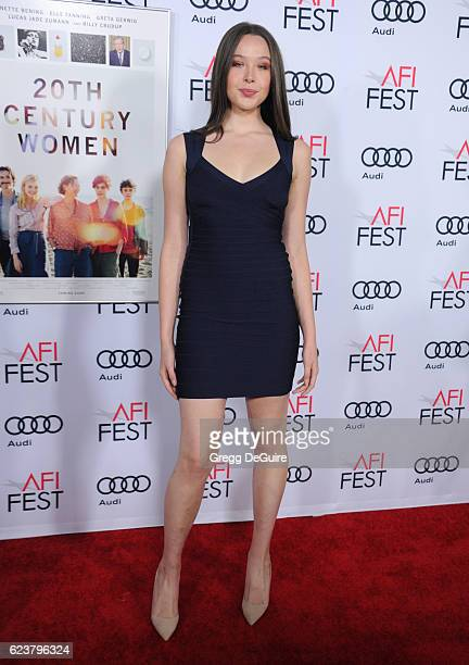Ella Beatty arrives at the AFI FEST 2016 Presented By Audi A Tribute To Annette Bening And Gala Screening Of A24's 20th Century Women at TCL Chinese...