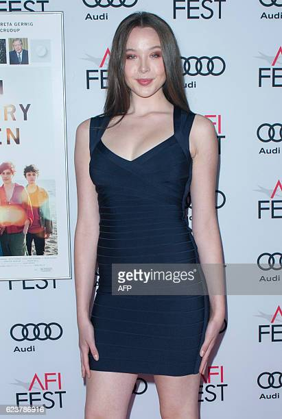 Ella Beatty attends a tribute to Annette Bening and gala screening of A24's '20th Century Women' at AFI Fest 2016 at The Chinese Theatre in Hollywood...