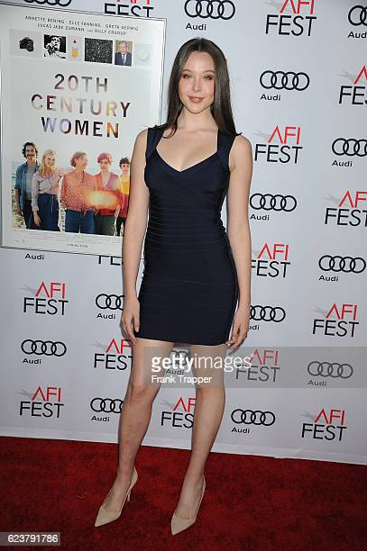 Ella Beatty attends the screening of A24's 20 Century Women at AFI Fest 2016 presented by Audi at The Chinese Theatre on November 16 2016 in...