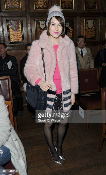 01570bba070b79 Ella Catliff attends the Pringle show at the London Collections Men AW15 at  on January 11