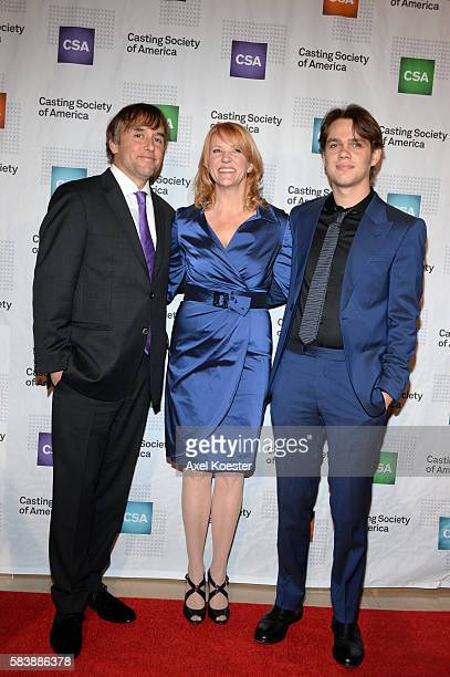 Ella Coltrane Beth Sepko and David Linklater arrive to The Casting Society of America's 30th Annual Artios Awards Banquet at the Beverly Hilton Hotel...
