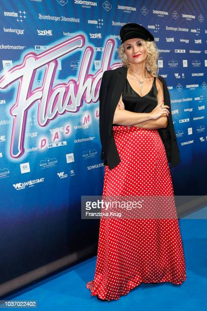 Ella Deck attends the premiere of 'Flashdance Das Musical' at Mehr Theater on September 20 2018 in Hamburg Germany