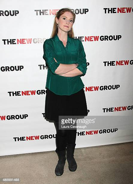 Ella Dershowitz attends the off Broadway opening night celebration for Annapurna at KTCHN Restaurant on April 21 2014 in New York City