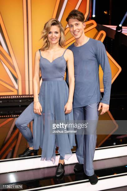 Ella Endlich and Valentin Lusin during the 2nd show of the 12th season of the television competition Let's Dance on March 29 2019 in Cologne Germany