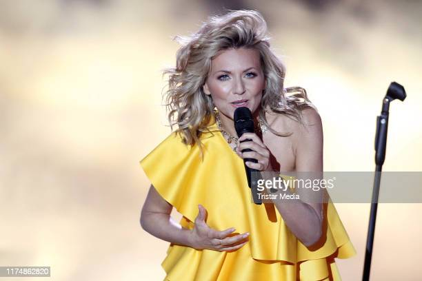 Ella Endlich at the charity gala Willkommen bei Carmen Nebel at TUI Arena on September 14 2019 in Hanover Germany