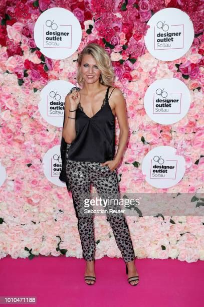 Ella Endlich attends the Late Night Shopping at Designer Outlet Soltau on August 3 2018 in Soltau Germany
