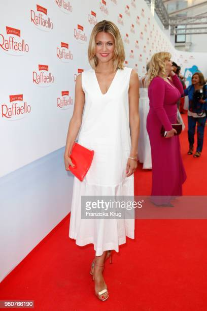 Ella Endlich during the Raffaello Summer Day 2018 to celebrate the 28th anniversary of Raffaello at Villa von der Heydt on June 21 2018 in Berlin...