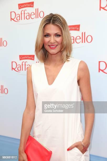Ella Endlich during the Raffaello Summer Day 2018 to celebrate the 28th anniversary of Raffaello on June 21 2018 in Berlin Germany