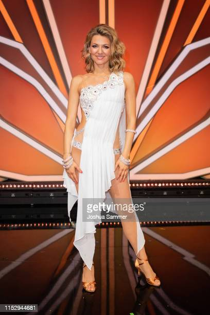 Ella Endlich is seen during the 10th show of the 12th season of the television competition Let's Dance on May 31 2019 in Cologne Germany