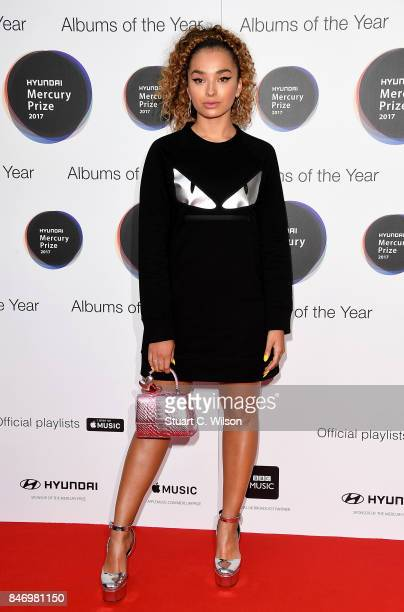 Ella Eyre arrives at the Hyundai Mercury Prize 2017 at Eventim Apollo on September 14 2017 in London England
