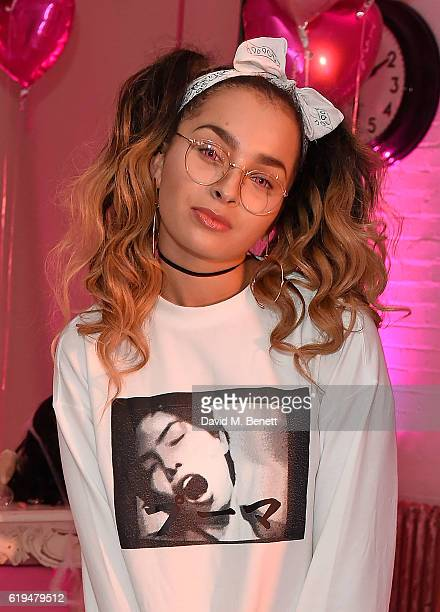 Ella Eyre attends Charli XCX 'After The After Party' Halloween Party on October 31 2016 in London England