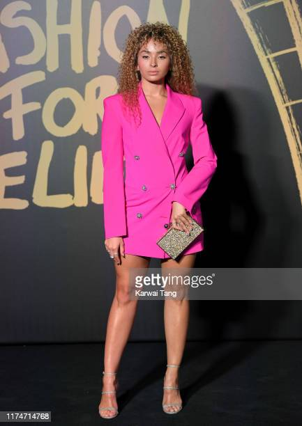 Ella Eyre attends Fashion For Relief London 2019 at The British Museum on September 14 2019 in London England