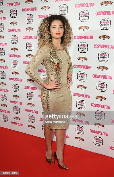 Ella Eyre attends the Cosmopolitan Ultimate Women of the Year Awards at One Mayfair on December 3 2014 in London England