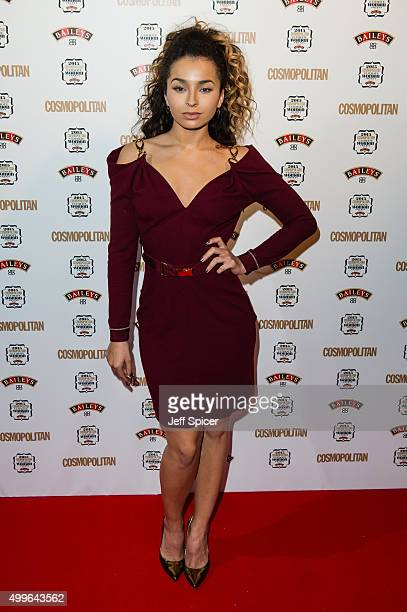 Ella Eyre attends the Cosmopolitan Ultimate Women of the Year Awards at One Mayfair on December 2 2015 in London England