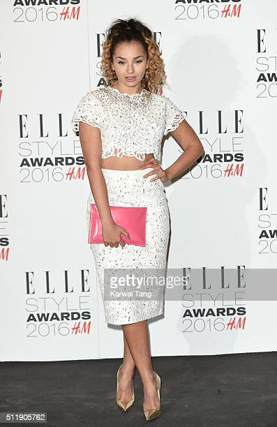 Ella Eyre attends The Elle Style Awards 2016 on February 23 2016 in London England