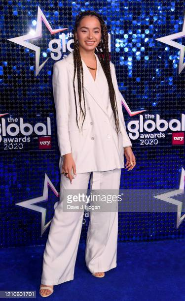 Ella Eyre attends The Global Awards 2020 at Eventim Apollo Hammersmith on March 05 2020 in London England