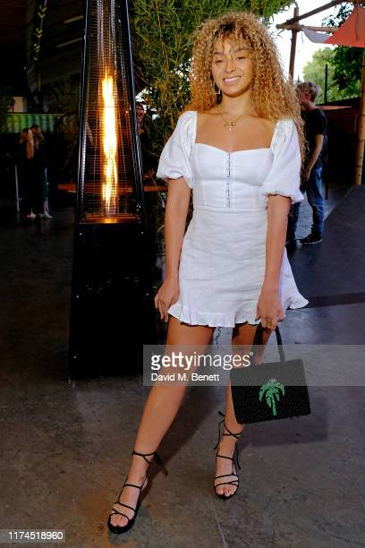 Ella Eyre attends the launch of Reformation's first London store at BaySIXTY6 Skatepark on September 13 2019 in London England