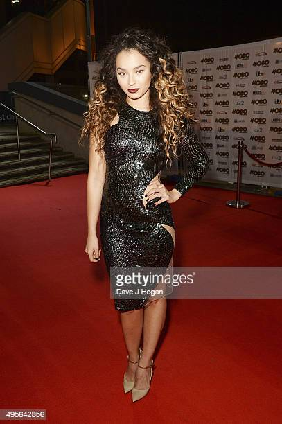 Ella Eyre attends the MOBO Awards at First Direct Arena on November 4 2015 in Leeds England