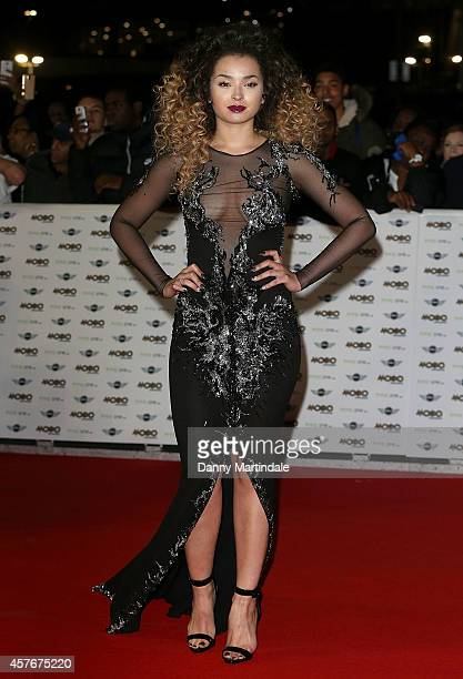 Ella Eyre attends the MOBO Awards at SSE Arena on October 22 2014 in London England