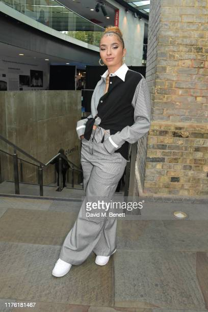 Ella Eyre attends The Q Awards 2019 at The Roundhouse on October 16 2019 in London England