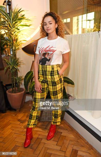Ella Eyre attends the Topman LFWM party at Mortimer House on January 7 2018 in London England