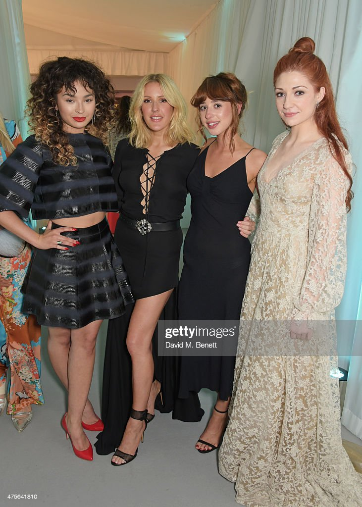 Ella Eyre, Ellie Goulding, Foxes and Nicola Roberts attend the Glamour Women Of The Year awards at Berkeley Square Gardens on June 2, 2015 in London, England.