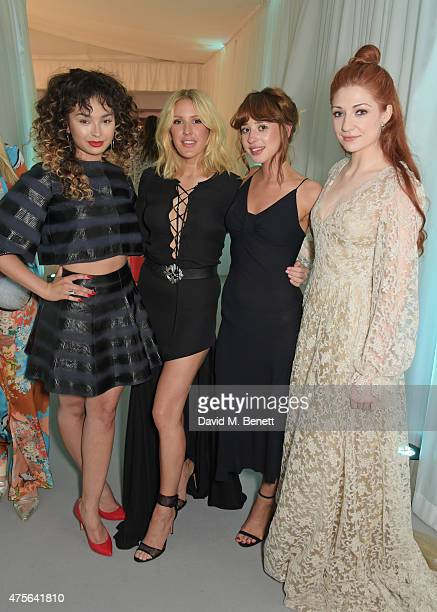 Ella Eyre, Ellie Goulding, Foxes and Nicola Roberts attend the Glamour Women Of The Year awards at Berkeley Square Gardens on June 2, 2015 in London,...