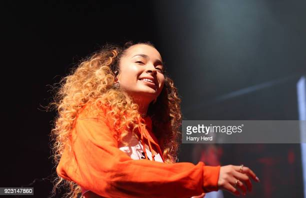 Ella Eyre performs at BIC on February 22 2018 in Bournemouth England