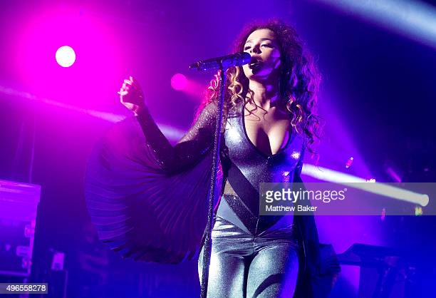 Ella Eyre performs at O2 Academy Brixton on November 10 2015 in London England
