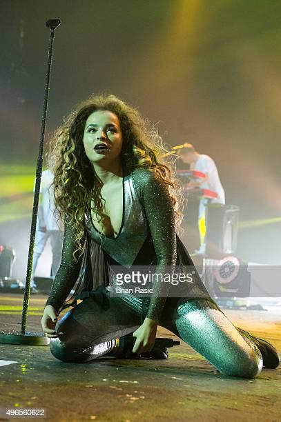 Ella Eyre performs at O2 Academy Brixton on November 10, 2015 in London, United Kingdom.