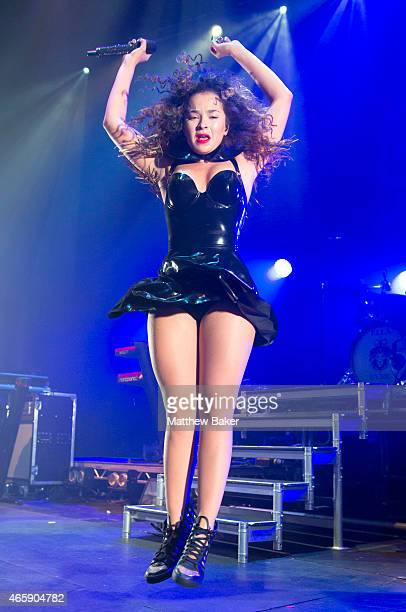 Ella Eyre performs at The Roundhouse on March 11 2015 in London England