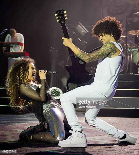 Ella Eyre performs live at O2 Academy Brixton on November 10 2015 in London England